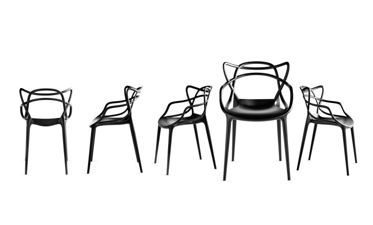 masters chair for kartell