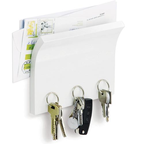 Minimalistlik kirjade ja võtmete hoidja firmalt Umbra