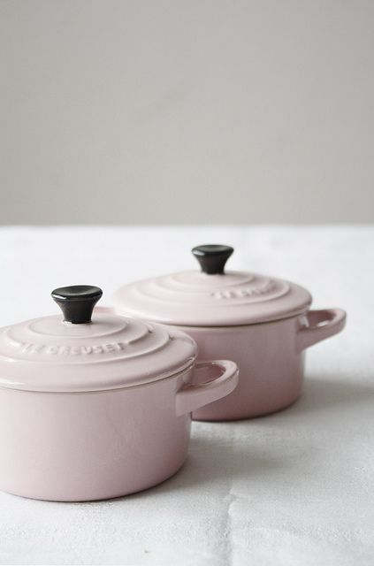 Le Creuset in color- Cherry Blossom