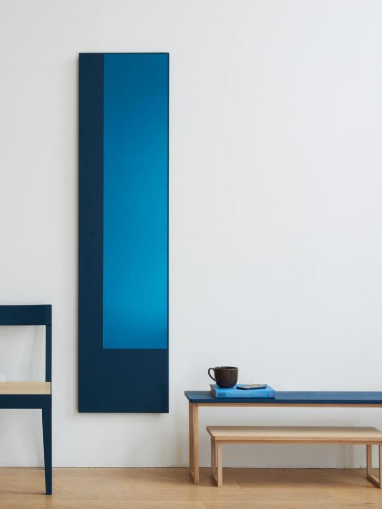 orlo offset blue mirror